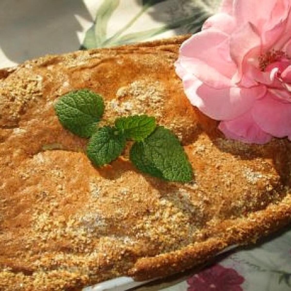 Ezen a képen: Almás-szilvás cobbler