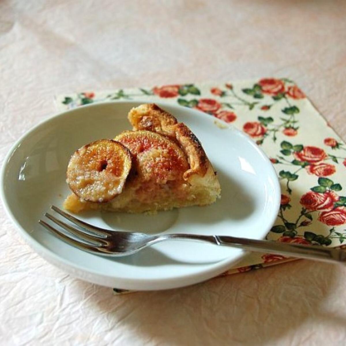 Mandulás-fügés crostata