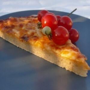 Gluténmentes pizza - ahogy Nyihaj készíti