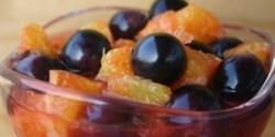 Frissítő gyümölcstál