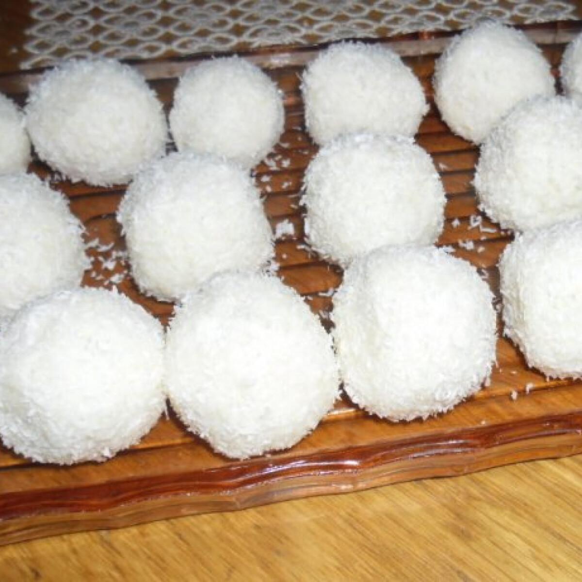 Túrós kókuszgolyók helena konyhájából