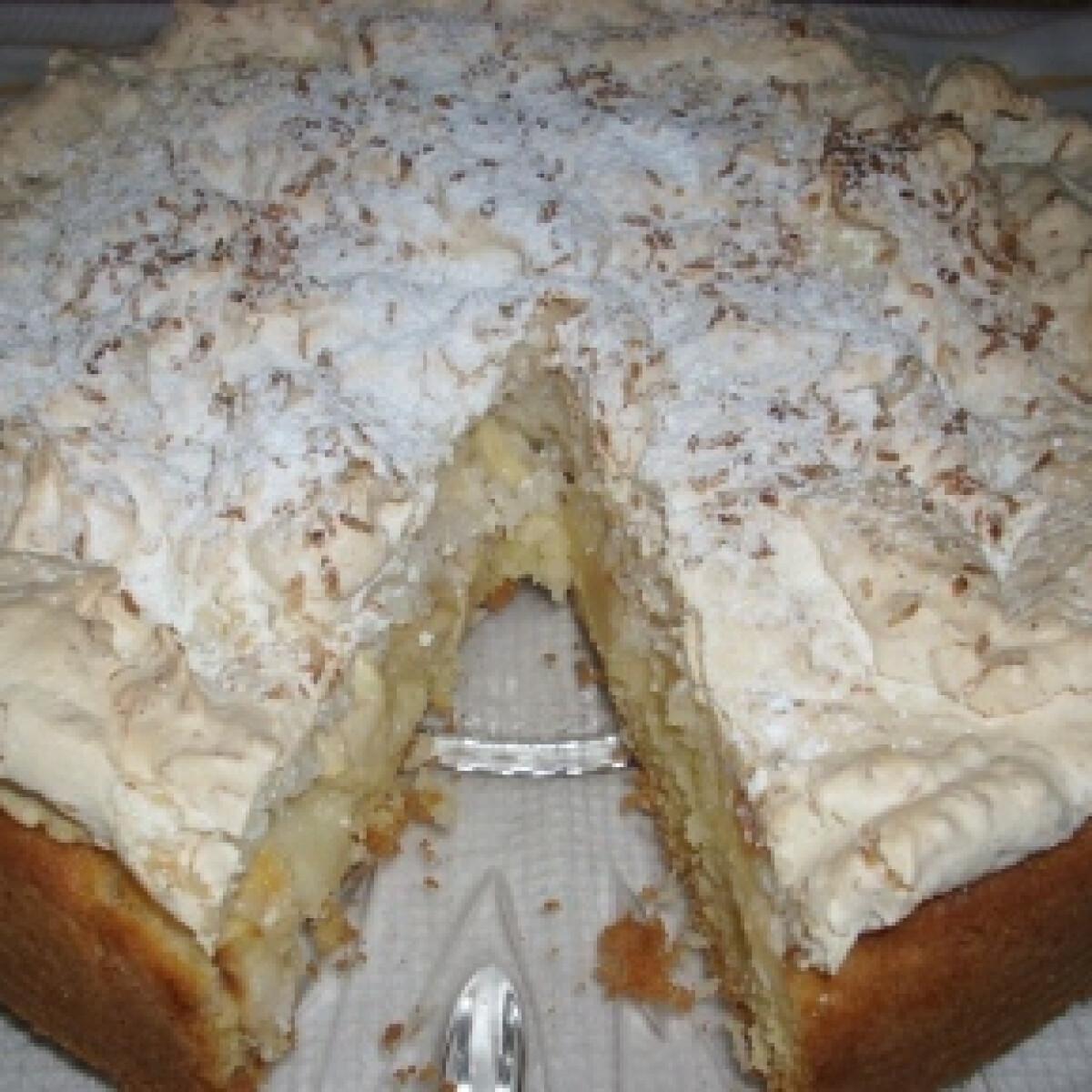 Kókuszos-almás sütemény 2.