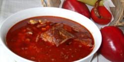 Mexikói tüzes leves