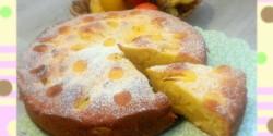 Bújtatott almás pite