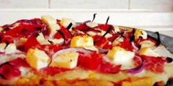 Görögös pizzafeltét
