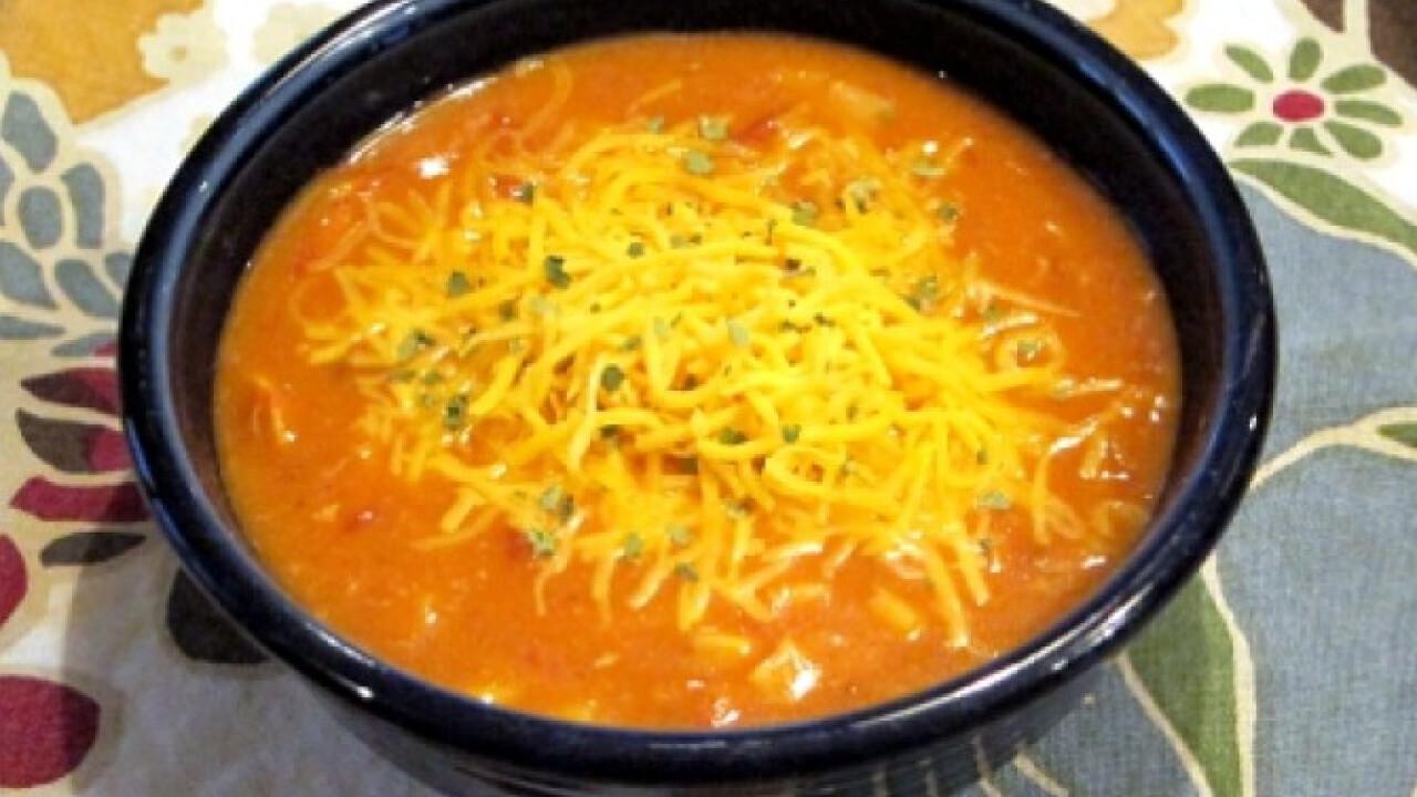 Mexikói csípős tortilla leves