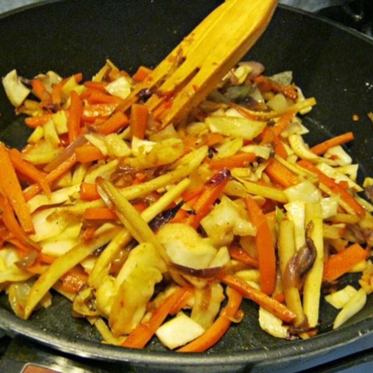 Roppanós zöldségek