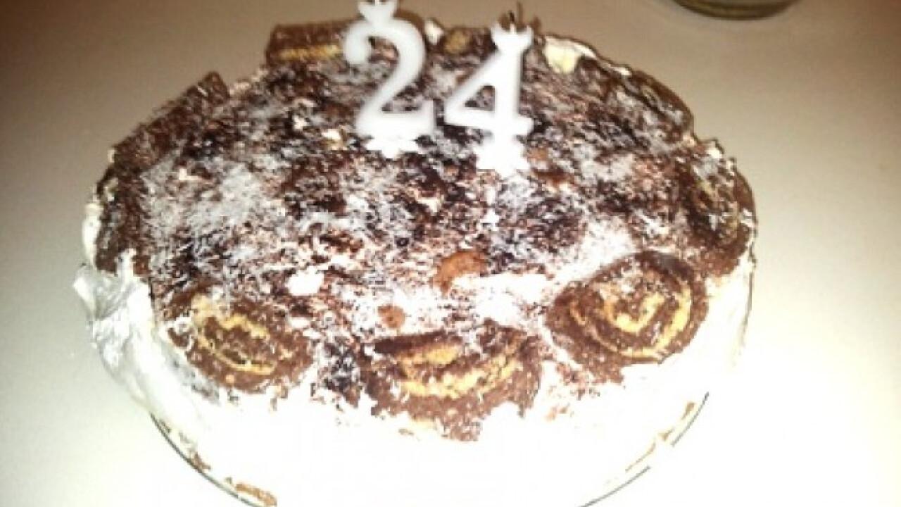 Kókusztekercs torta