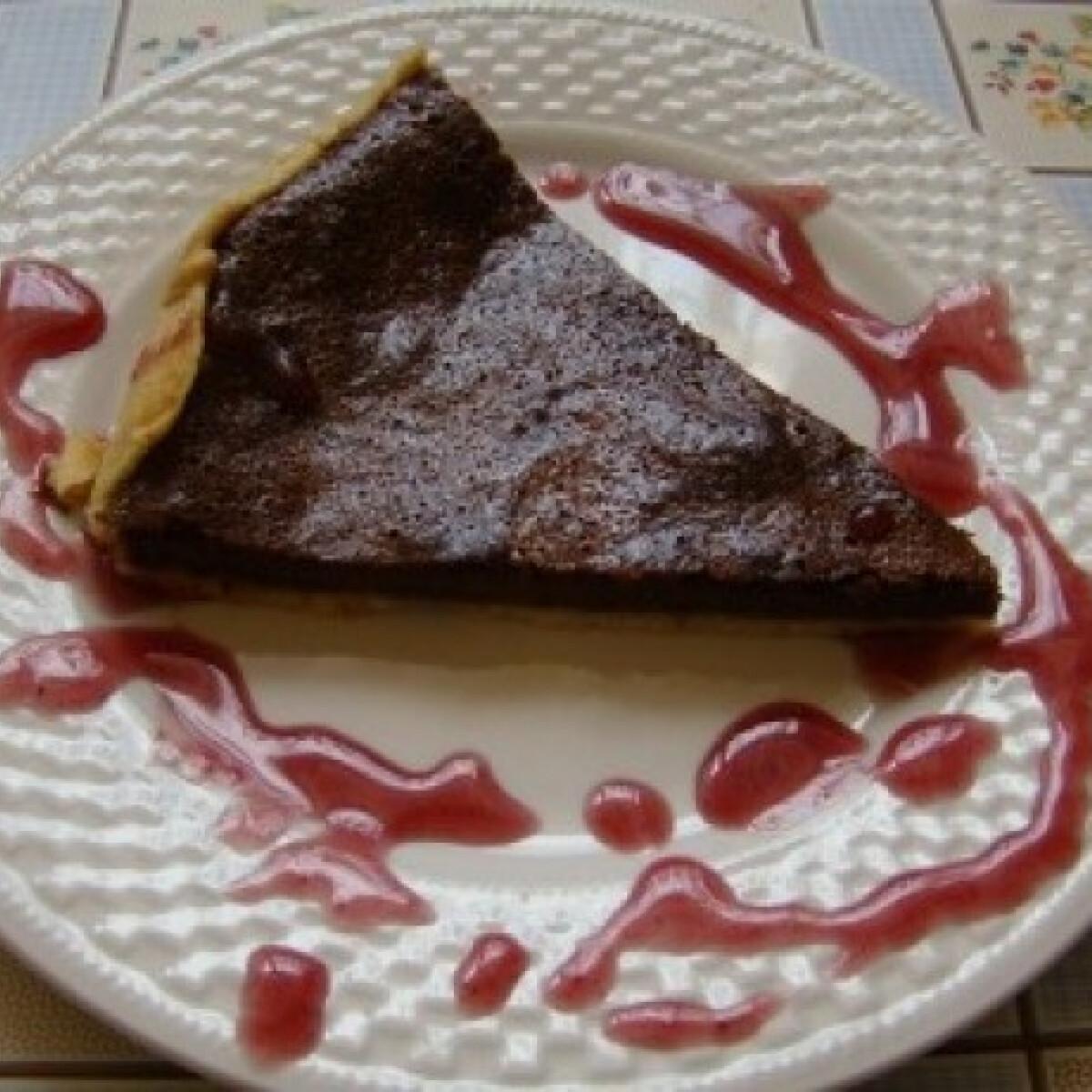 Ezen a képen: Csokoládétorta