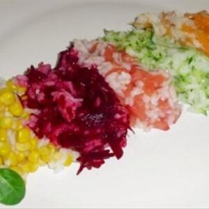 Szivárvány-rizs