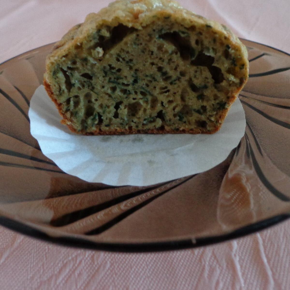 Ezen a képen: Spenótos muffin diétásan