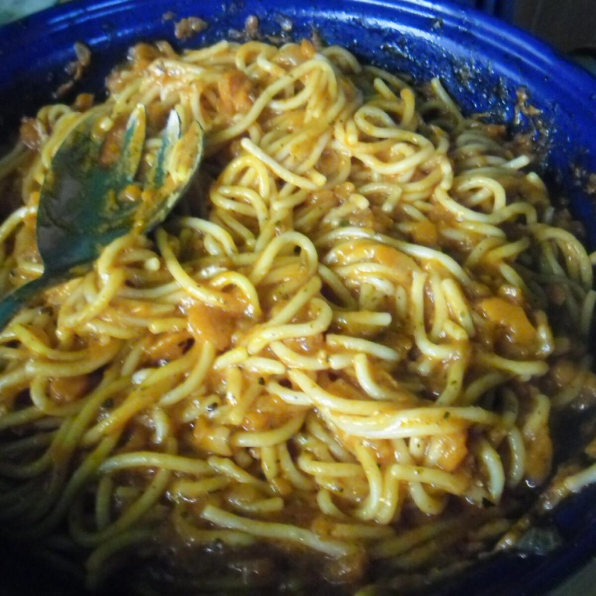 Cukkinis spagetti helena konyhájából