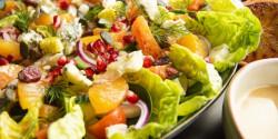 Vitaminbomba vérnarancsos saláta