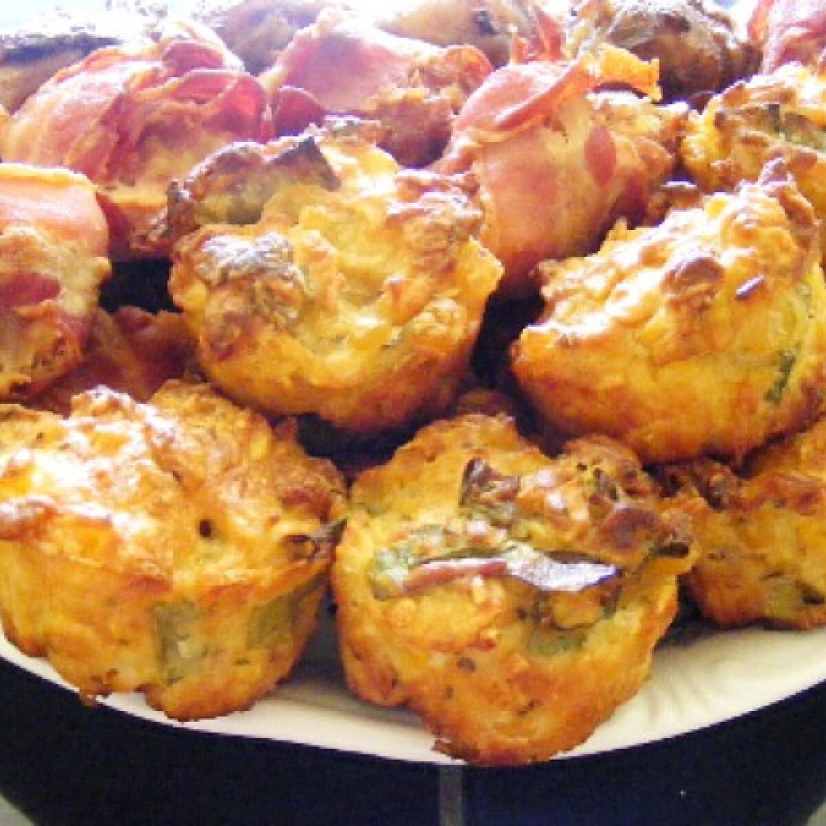 Ezen a képen: Kukoricás muffin