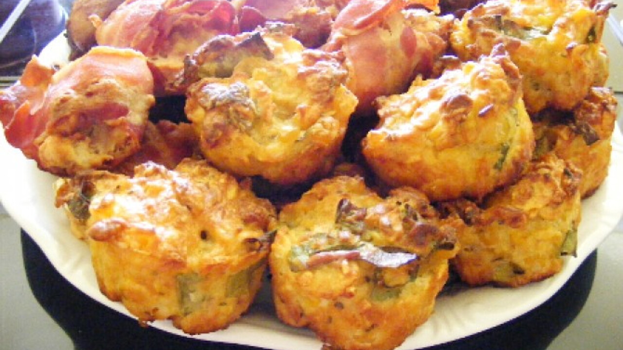 Kukoricás muffin