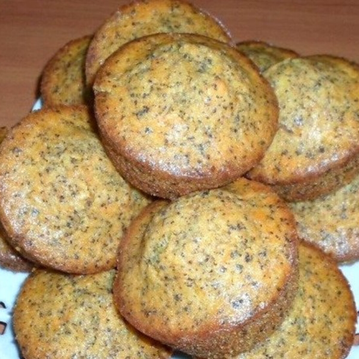 Ezen a képen: Sütőtökös-mákos muffin
