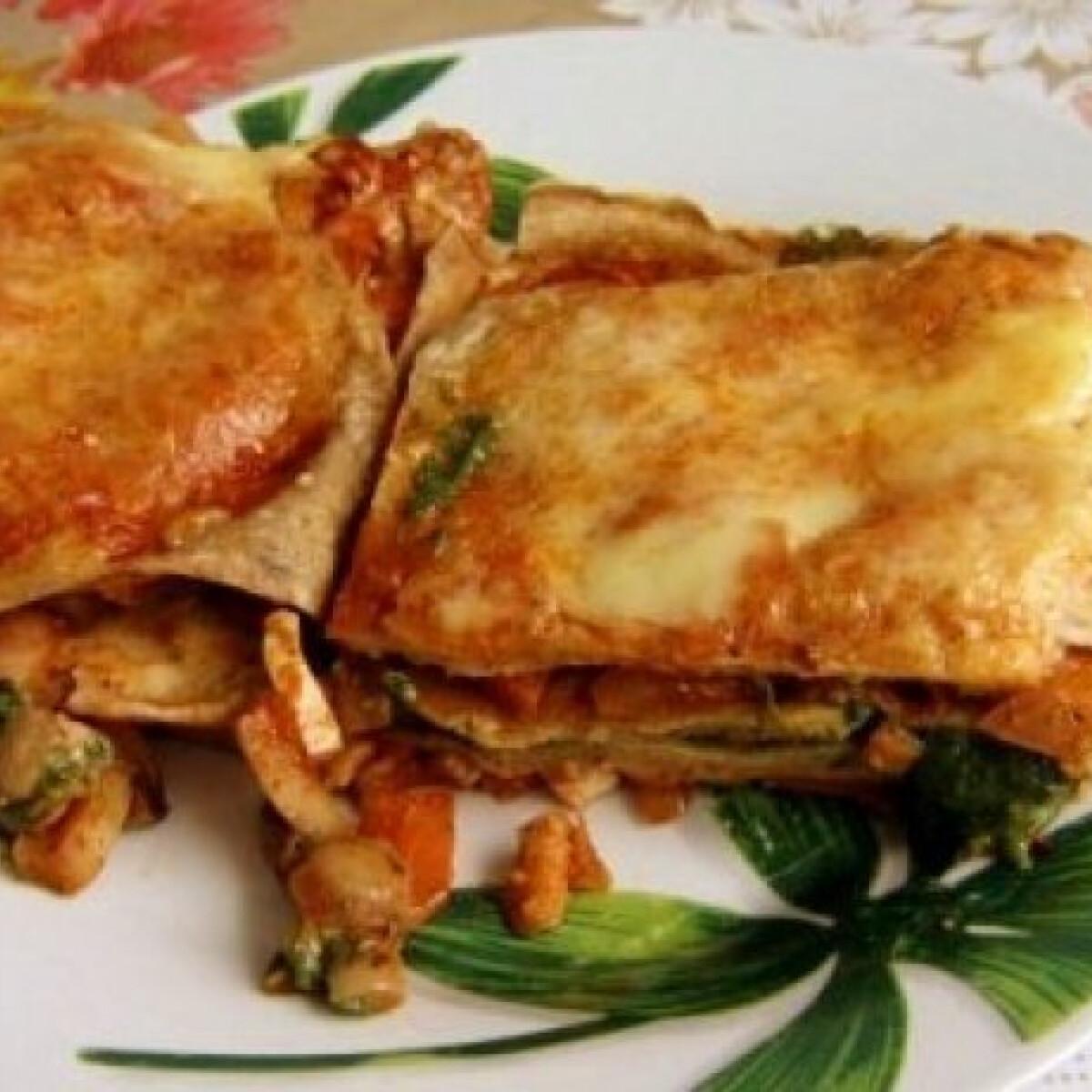 Ezen a képen: Lasagne 10. - tofus reform