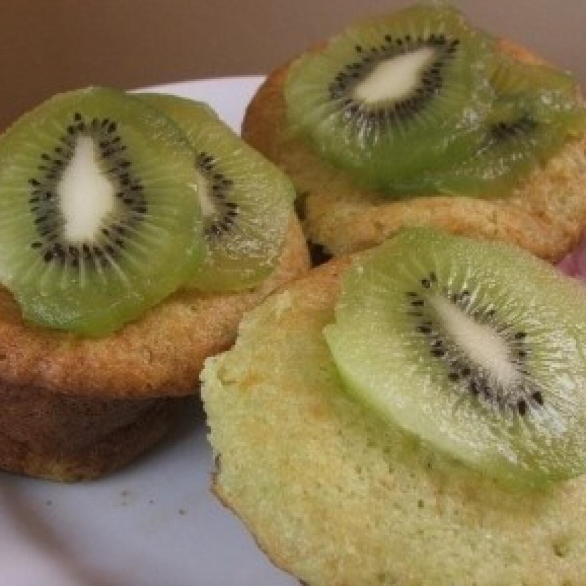 Ezen a képen: Kivis muffin