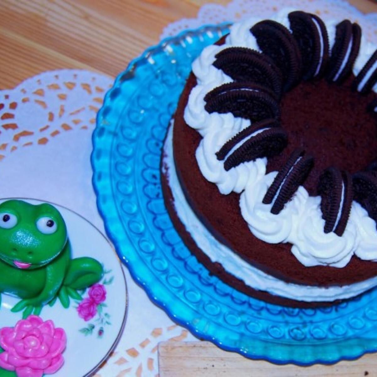 Ezen a képen: Oreo torta SüniSüti konyhájából