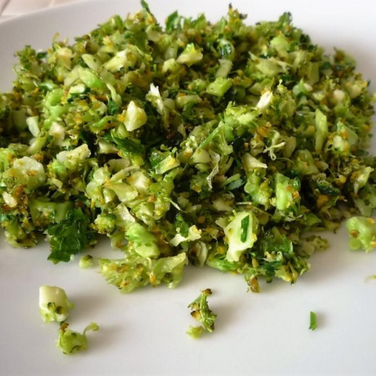 Brokkolirizs