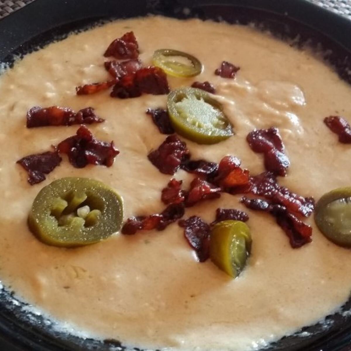 Ezen a képen: Mexikói sajtleves Vitya konyhájából