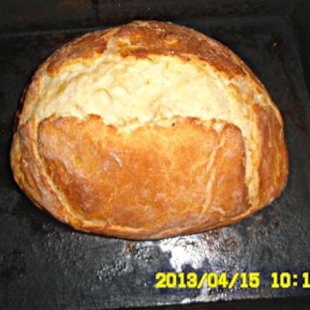 Ezen a képen: Sütőzacskóban sült kenyér