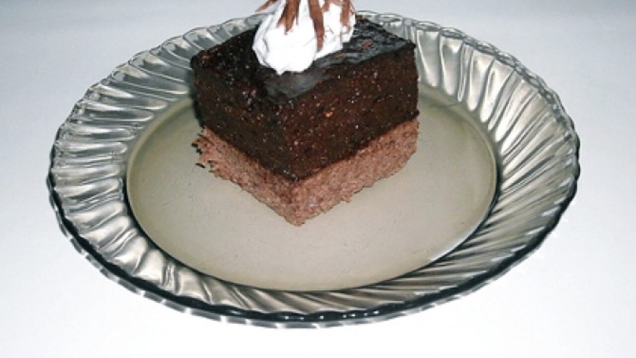 Csokihabos kocka