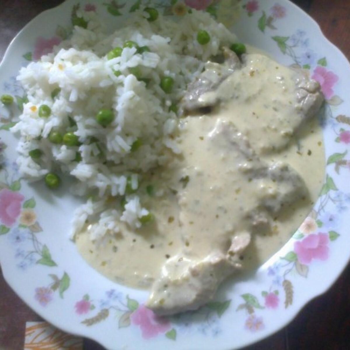 Ezen a képen: Boros-mustáros sertésszelet