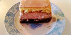 Sangria-krémes szelet