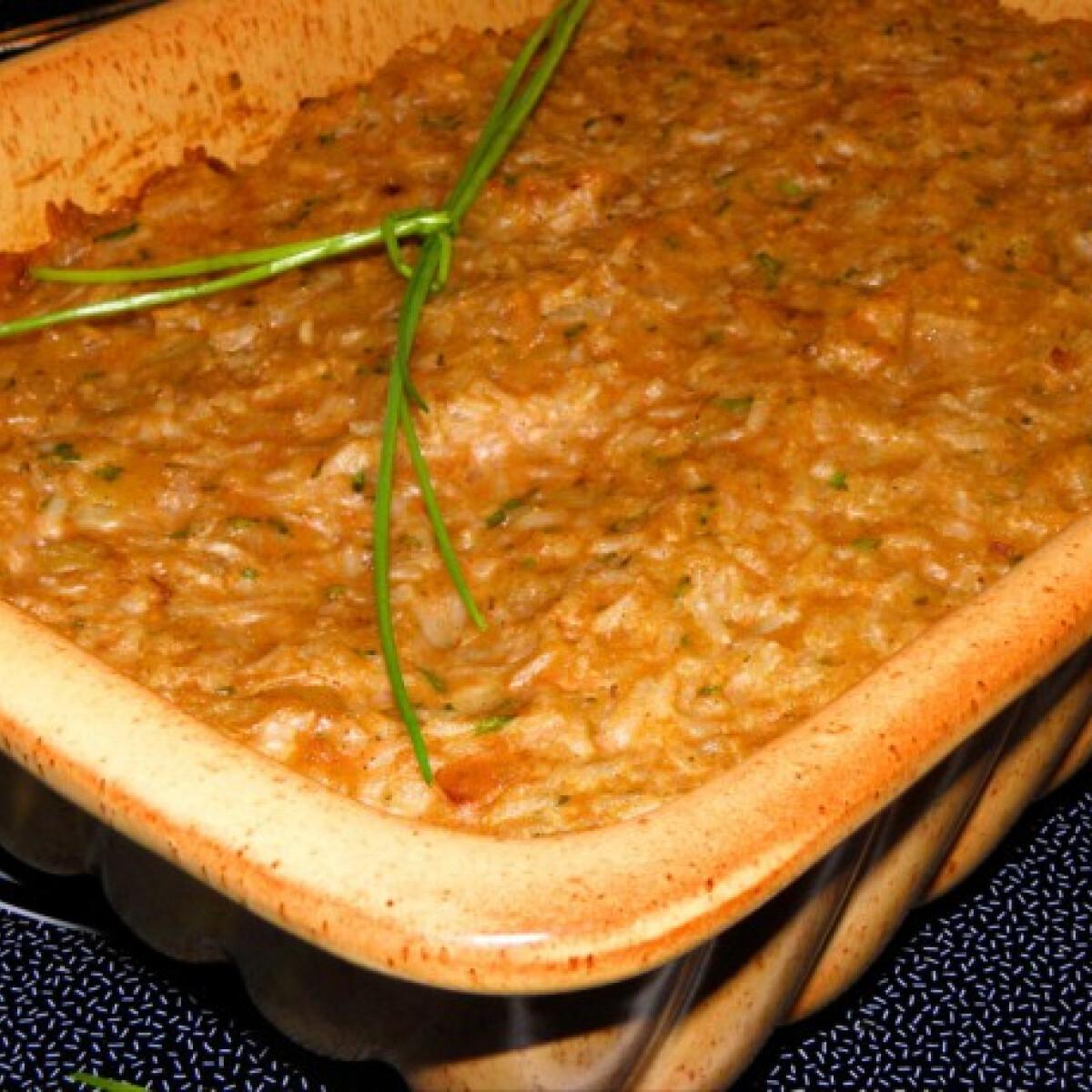 Májkrémes rizs