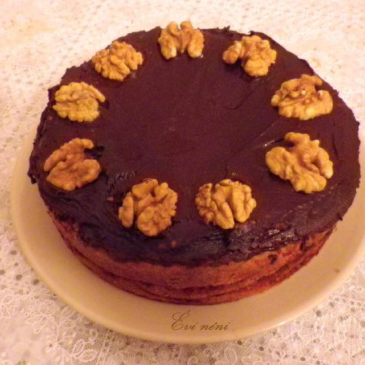 Ezen a képen: Zserbó torta
