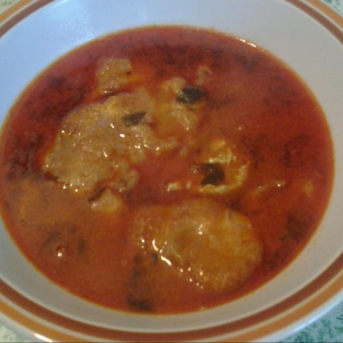 Tárkonyos tojásos leves