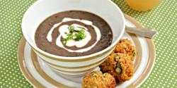 Indiai ihletésű feketelencse-főzelék