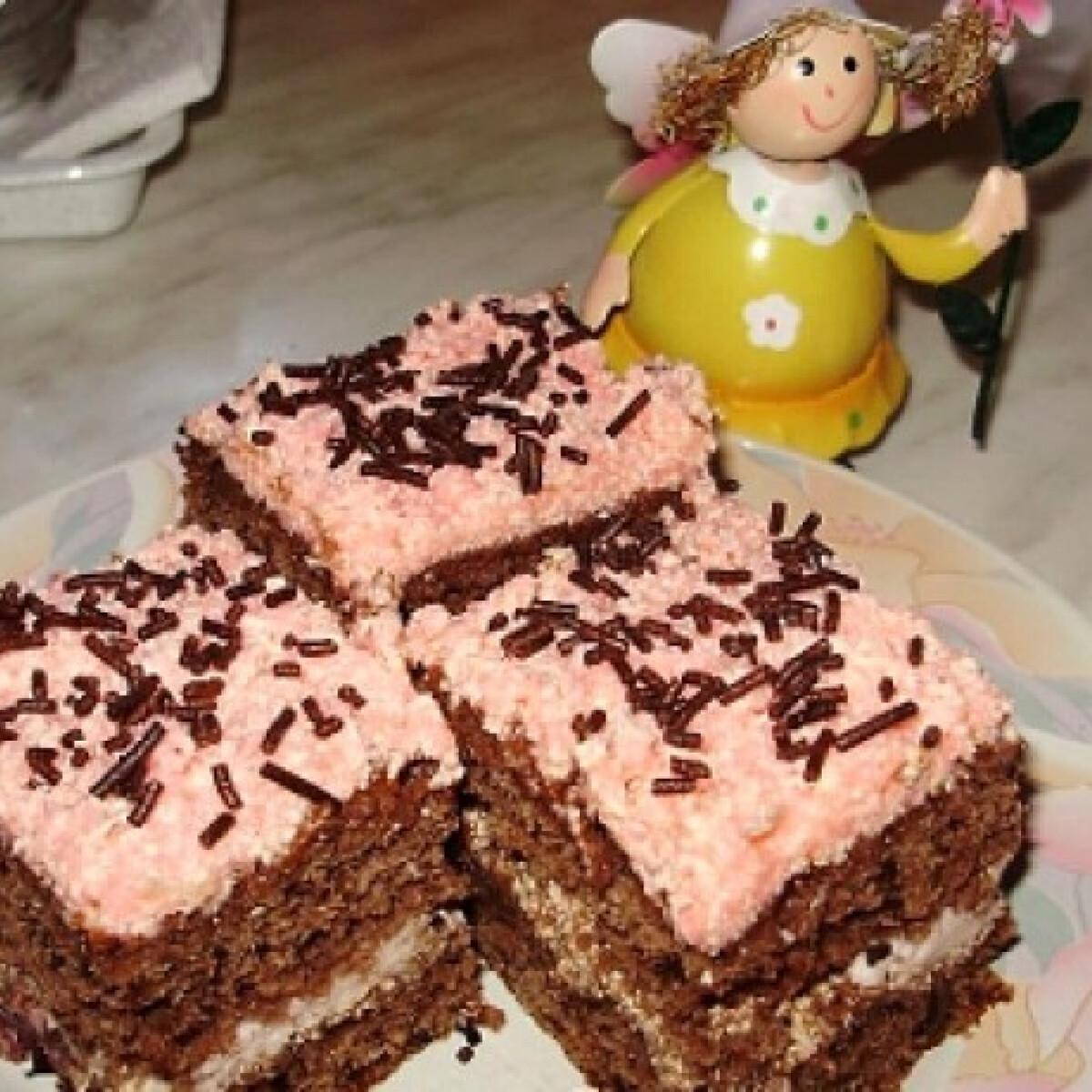 Ezen a képen: Kakaós sütiszeletkék Boszitól