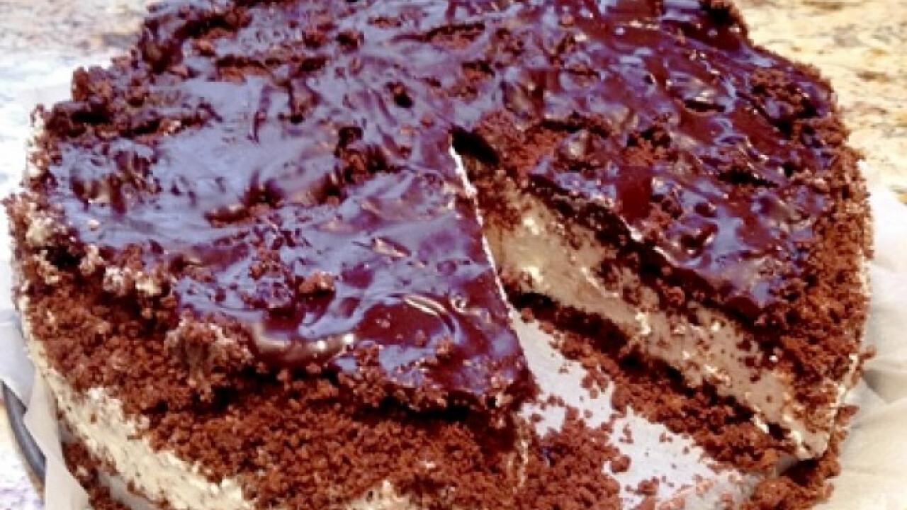 Túró rudi torta gazdagon