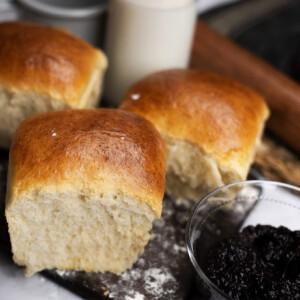 Milk bread, a japán kalács