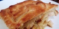 Csirkés-csicsókás pite BBC módra