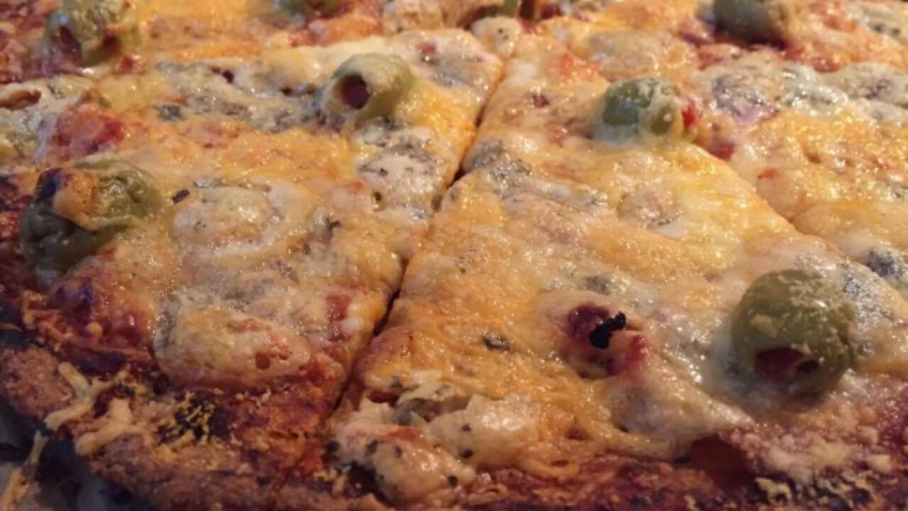 Gluténmentes házi pizza