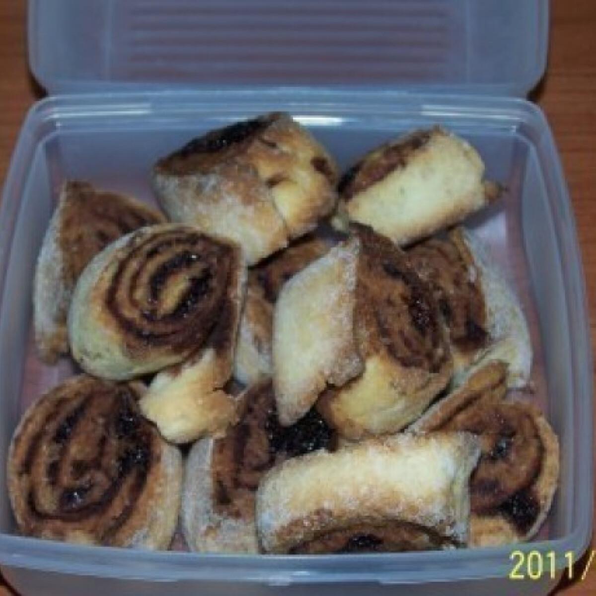 Ezen a képen: Gluténmentes mini kakaós csigák