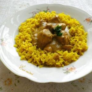 Gránátalmás indiai csirke
