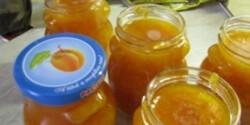 Narancsos sárgabarack lekvár