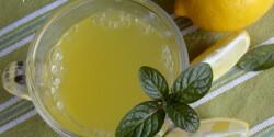 Gyömbéres-mézes limonádé