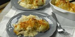 Csirkemell Dubarry módra füstölt sajttal