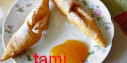 Csörögefánk ahogy Tami készíti