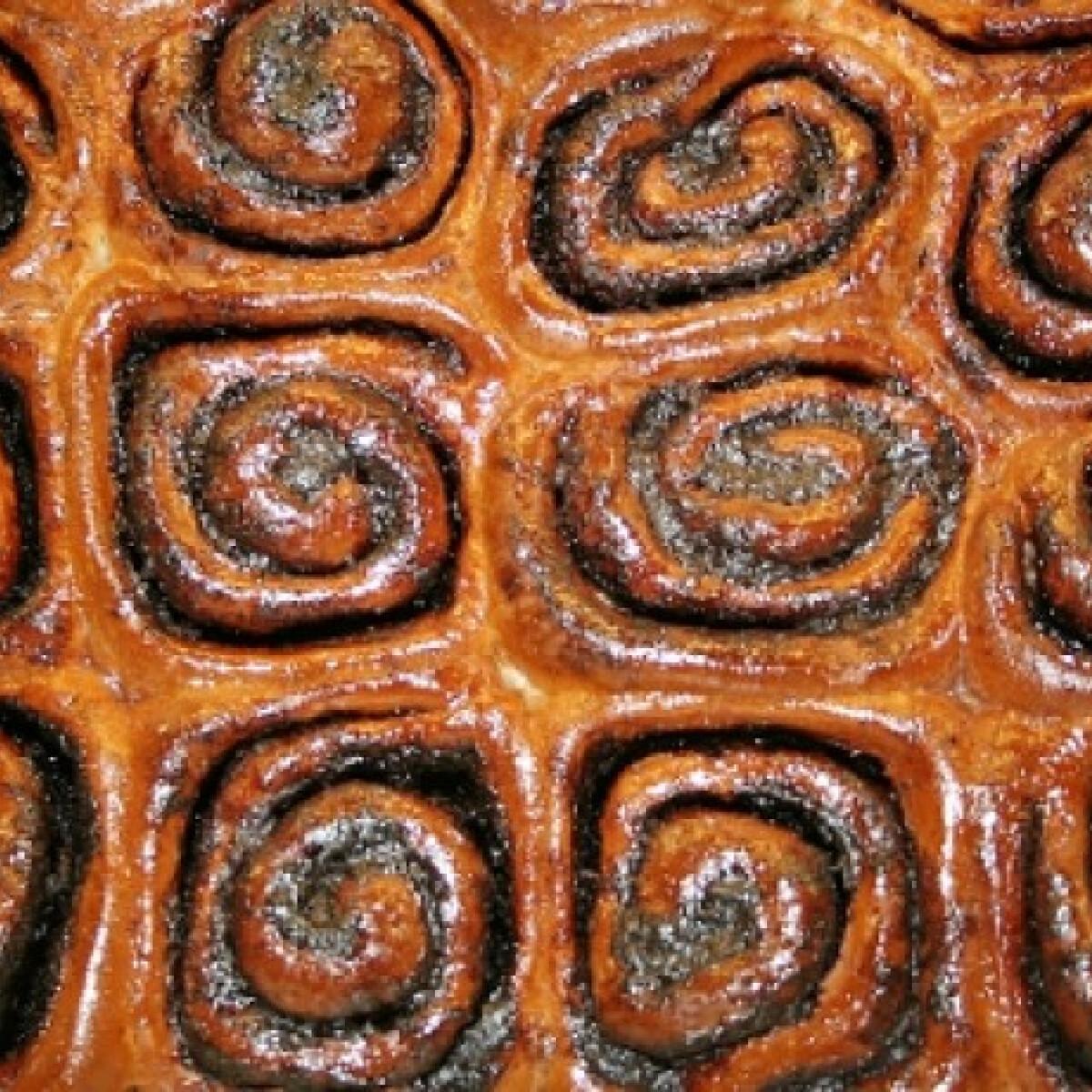 Ezen a képen: Csokis csiga-labirintus