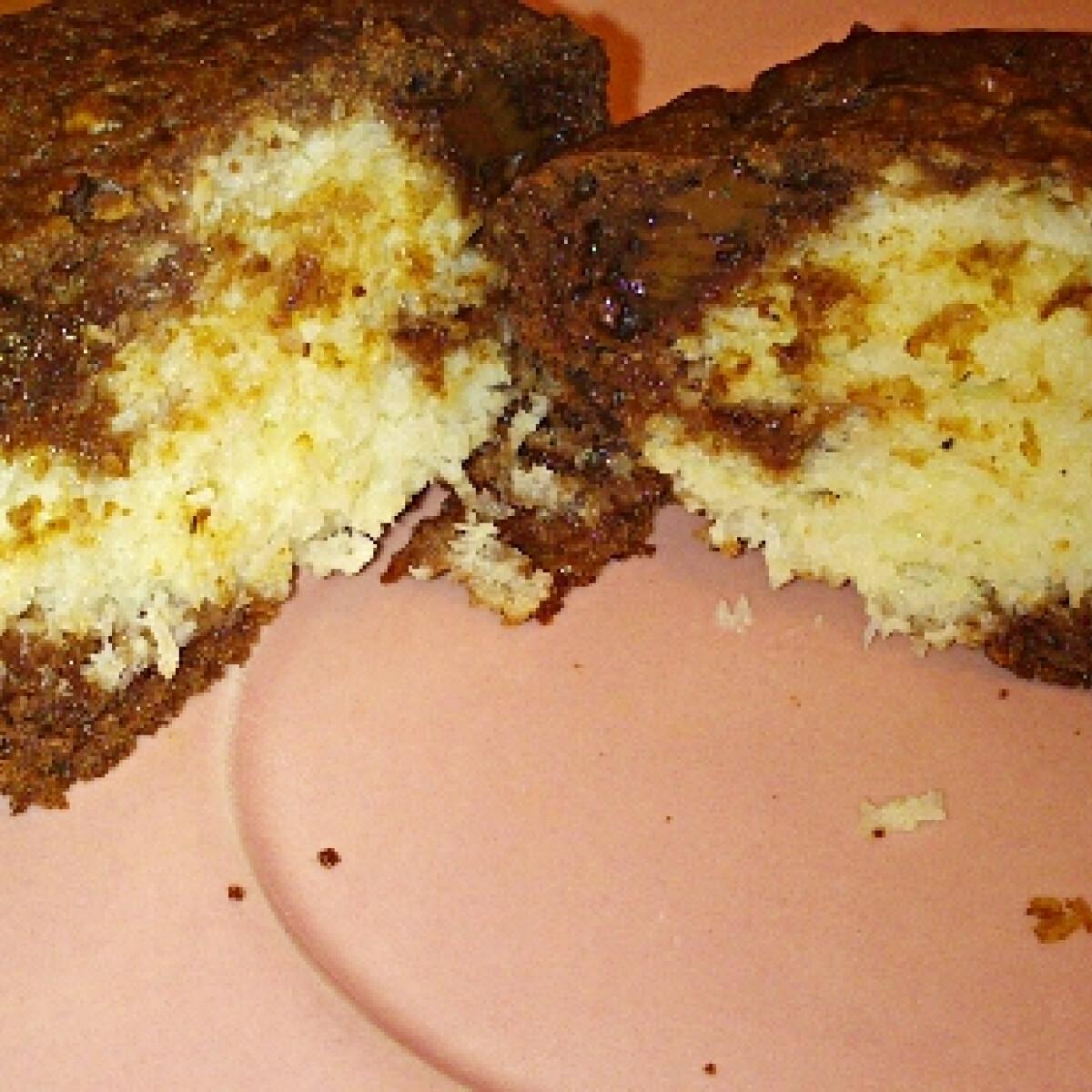 Bounty muffin cukormentesen