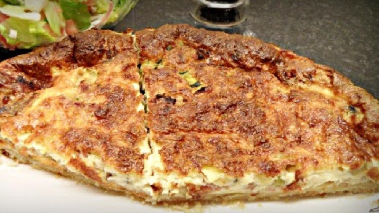 Zöldséges pite ahogy Olga készíti