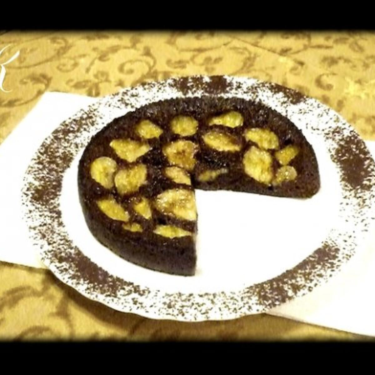 Ezen a képen: Mikrós banános süti KetyNasi konyhájából