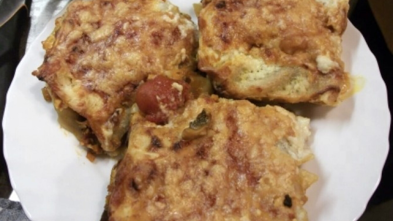 Vegetáriánus lasagne Lecsólány konyhájából