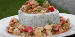 Fűszeres tengeri halragu petrezselymes rizzsel